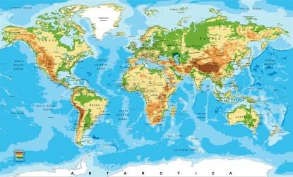Mapa Político Completo