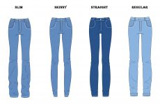 Jeans: Slim, Skinny, Straight ou Regular